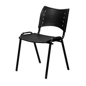 Aluguel de cadeira iso preta
