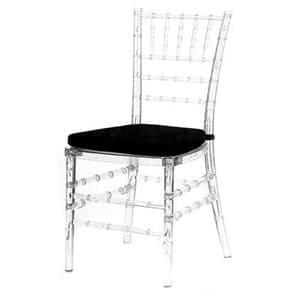 Aluguel de Cadeira Tiffany Cristal