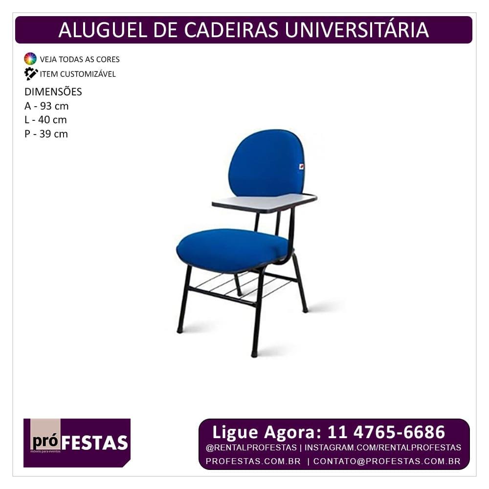 Aluguel De Cadeira Universitaria Aluguel De Moveis Para Eventos