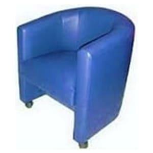 Aluguel de Poltrona Curva Azul
