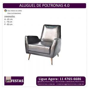 Aluguel de Poltrona 4.0 Preta