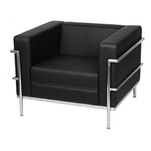 aluguel sofá le corbusier lc1 preto