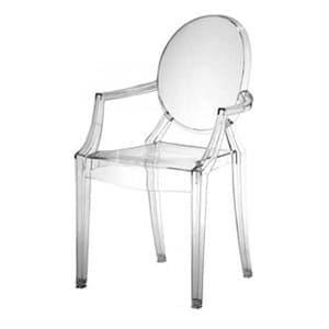 aluguel cadeira louis ghost cristal