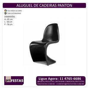 Aluguel de Cadeiras Panton