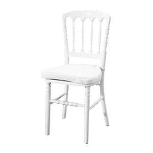 aluguel de cadeira dior branca