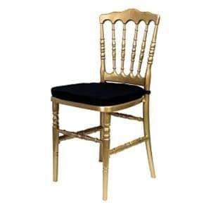 Aluguel de Cadeira Dior Dourada