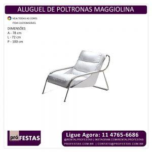 Aluguel de Poltrona Maggiolina