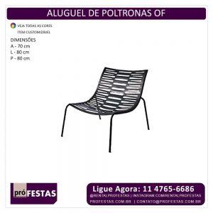 Aluguel de Poltrona OF