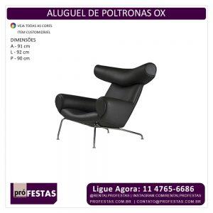 Aluguel de Poltrona OX