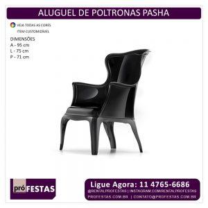 Aluguel de Poltrona Pasha