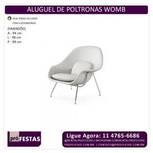 Aluguel de Poltrona Womb