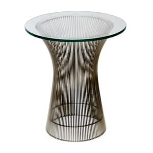 aluguel mesa lateral Platner