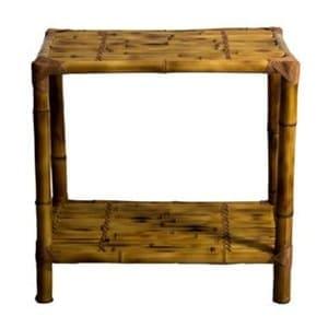 aluguel mesa lateral bambu