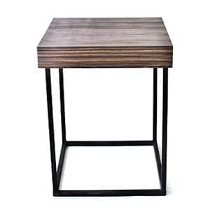 aluguel mesa lateral quadrada macassar