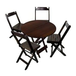 aluguel-mesas-cadeiras-madeira redonda