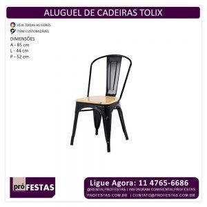 Aluguel de Cadeira Tolix