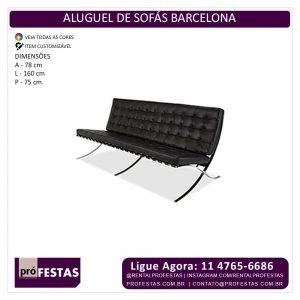 Aluguel de Sofás Barcelona
