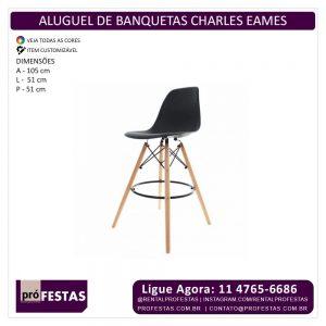 Aluguel de Banquetas Charles Eames