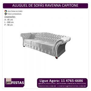 Aluguel de Sofás Ravenna Capitone