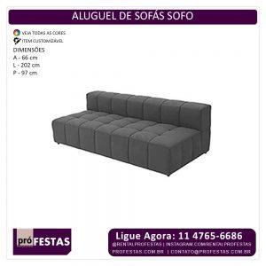 aluguel de sofás sofo