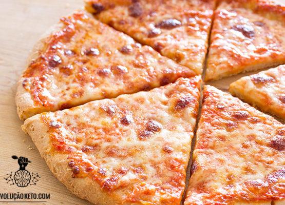 Pizza Pan Cetogênica: simplesmente, um milagre culinário 3