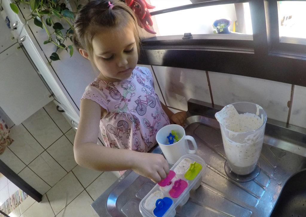 Picolé cremoso Keto de morango: testado e aprovado por todas as idades 2