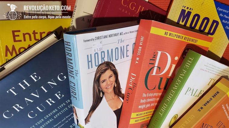 Livros sobre dieta cetogênica e low carb para download gratuito