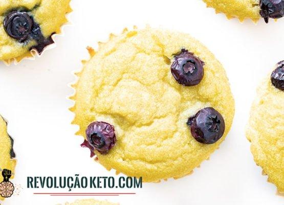 Muffins doces cetogênicos sem laticínios (farinha de coco) 10
