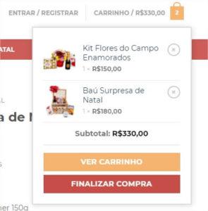 f599fd5cbcce Você pode continuar navegando pelo site e ir verificando os produtos que  estão no carrinho ou finalizar a compra.