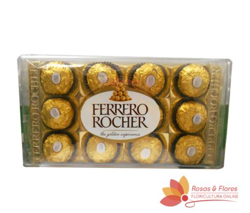 Chocolate Ferrero Rocher Floricultura Rosas e Flores RJ