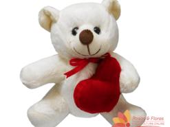 Pelúcia Urso com Coração Floricultura Rosas e Flores RJ