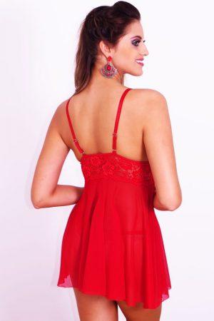 Camisola sem bojo Vermelha ROSEVIE