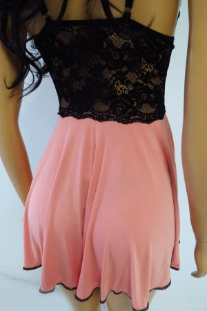 Camisola de liganate ROSEVIE (Sem bojo) – rosa envelhecido