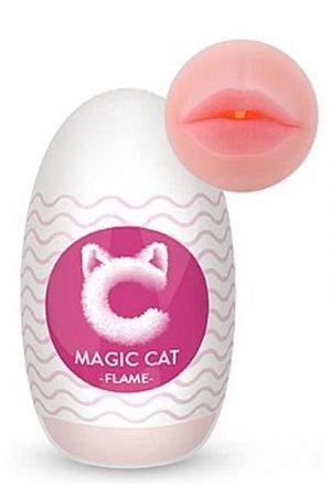 MASTURBADOR BOCA MAGIC CAT CYBER SKIN