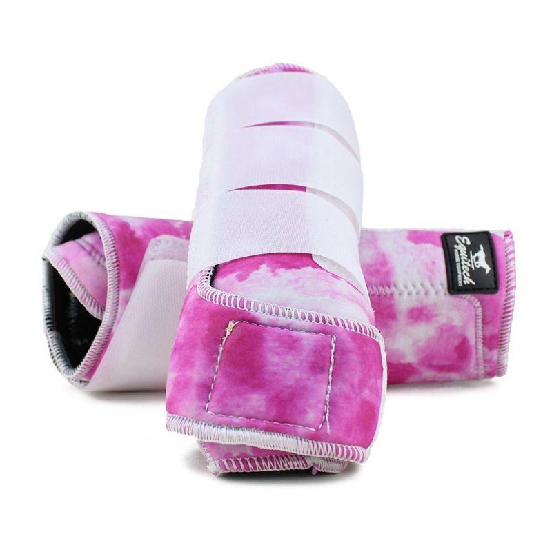 Caneleira Equitech Tye Dye Cor:Rosa 1