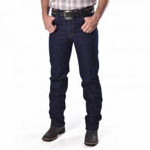 Calça Mr West Algodão Jeans Escuro