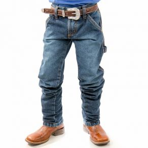 Calça Jeans King Farm Infantil Carpenter Blue