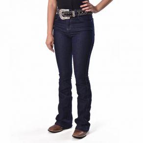 Calça MTX Feminina Jeans Escuro