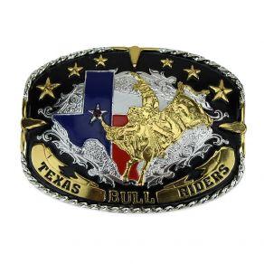 Fivela Sumetal Texas Bull Rider Ref. 6459