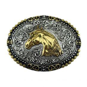 Fivela Sumetal Cabeça De Cavalo Ref. 11406F