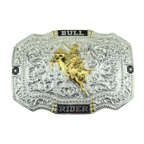 Fivela Sumetal Touro Bull Rider Ref.10623F