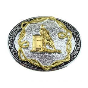 Fivela Sumetal Infantil Tambor Masculino Ref. 10683F