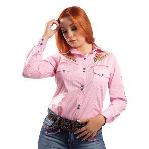 Camisa Miss Country Feminina Bravura Xadrez Ref. 684