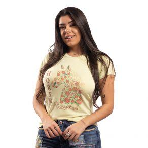 T-Shirt Miss Country Feminina Valente Verde Ref. 706