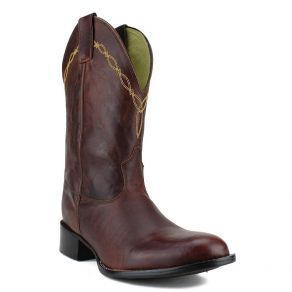 Bota Mr West B-72 Roper Ouro CM Fóssil Sella M.W 192