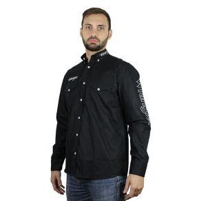 Camisa Wrangler Masculina Preta