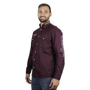 Camisa Wrangler Masculina Marsala