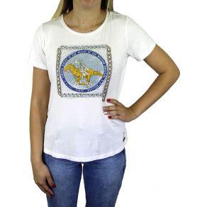 T-Shirt Z.H.W Feminina Tambor Palha