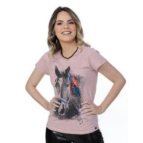 T-Shirt Miss Country Feminina Black Horse Ref. 277