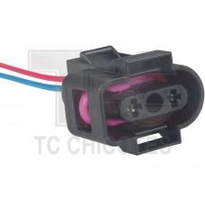 Chicote - Tc - Sensor Do Reservatorio Do Radiador Volkswagen Golf/Passat/Fox/Cross Fox/Spacefox/Up Audi A3      02 Vias - Unidade (Cada) - Tc102.1077